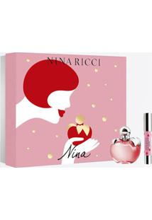 Kit Perfume Nina 80Ml E Batom Nina Ricci