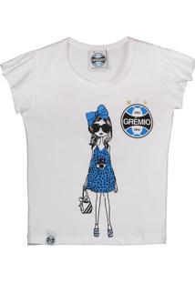 Camiseta Grêmio Infantil Feminina
