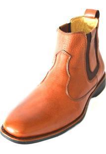 Botina Anatomic Gel Boots 1010294 Café - Kanui