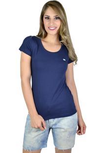 Camiseta Red Life Basic Azul Marinho