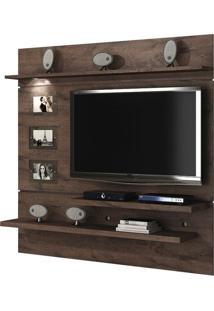 Painel Para Tv 60 Polegadas Interativo Castanho 182 Cm