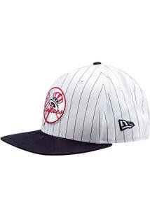 2b46dc61a9aa2 Boné New Era Mlb New York Yankees Aba Reta 950 Of Sn Coop Stripe - Unissex