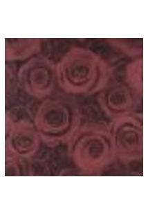 Papel De Parede Adesivo Decoração 53X10Cm Vermelho -W17577