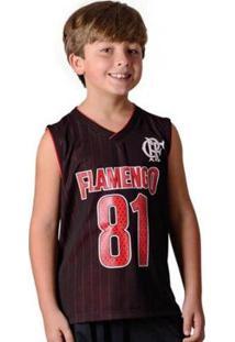 Regata Flamengo Infantil Drive Braziline - Masculino
