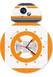 Relógio De Parede Dróide 8 Geek10 - Branco