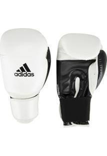 Luvas De Boxe Adidas Power 100 Smu Colors - 14 Oz - Adulto - Branco/Preto