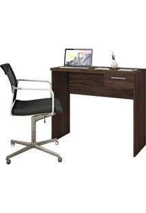 Mesa Office Malbec Trend Notável Móveis