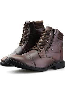 Bota Casual Touro Boots Furos ZãPer Marrom - Marrom - Masculino - Dafiti