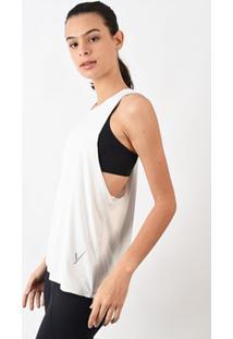 Camiseta Evolution Feminina Cavada Branca