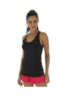3a664279d2 Camiseta Regata Puma Essential Layer - Feminina - Preto