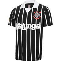 66378f0c1fbe6 Camisa Polo Retrô Corinthians Réplica 1990 Masculina - Masculino