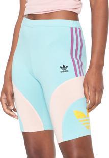 Bermuda Adidas Originals Ajustada Cycling Verde