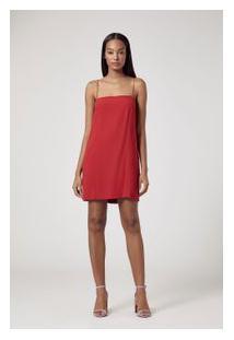 Vestido Flora Vermelho Vermelho Ceuta