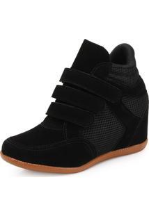 Tênis Sneaker Ana Lucia Al19-2021 (Preto)