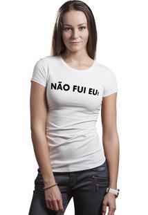 Camiseta Hunter Não Mesmo Branca