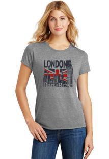 Camiseta Feminina T-Shirt London Big Ben