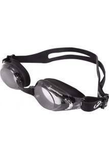 Óculos De Natação Hammerhead Velocity - Cinza Escuro/Preto