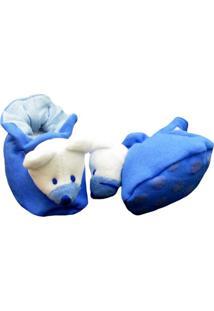 Pantufa Reve D'Or Sport Ursinho Azul