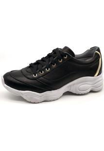 Tênis Sneaker Bmbrasil 251-03 Preto