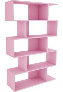 Estante Twister Tililin Móveis -Quartzo Rosa