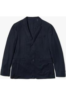 Casaco Lacoste Regular Fit Masculino - Masculino-Azul Navy