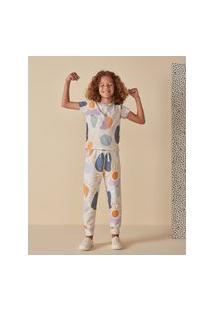 Amaro Feminino Camiseta Infantil Full Print, Mancha Sol