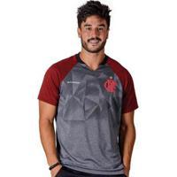 73acb270fe Camiseta Flamengo Nitta Raglan Braziline Masculina - Masculino