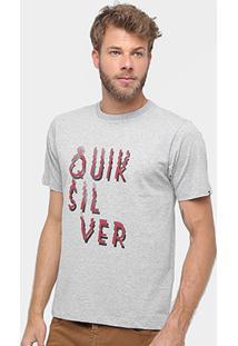 135546310f Camiseta Quiksilver Básica Smoke Masculina - Masculino