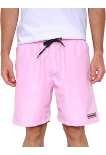 Bermuda Other Culture Clean - Masculino-Rosa