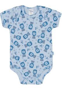 Body Bebê Pulla Bulla - Masculino-Azul