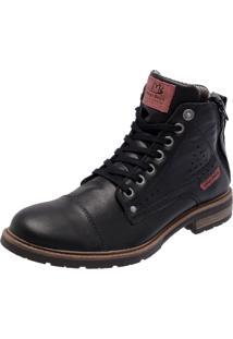 Bota Mega Boots 8007 Preto