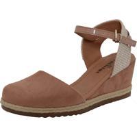 4f90ae2c6081db Sandália Nobuck Sintetica feminina | Shoes4you