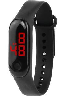 Relógio Digital Led Sport Preto - Tricae