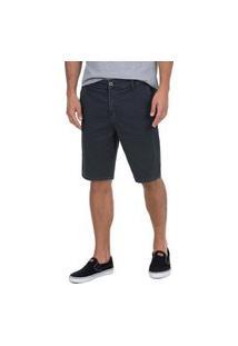 Bermuda Chino Hait Polo Wear Cinza Escuro 115838 Cinza Escuro
