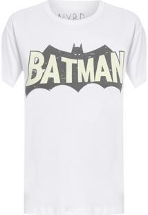 Camiseta Feminina Batman - Branco