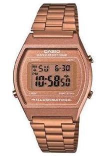 Relógio Feminino Casio Digital - Feminino-Bronze