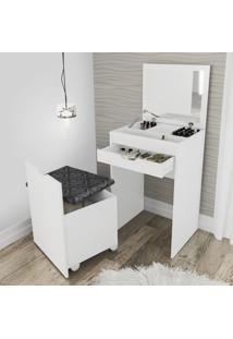 Penteadeira Compacta Branco/Tec.369 Pe2007- Tecno Mobili