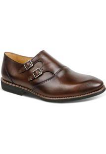 Sapato Masculino Linha Premium Monk Strap Sandro M