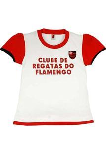 Baby Look Texto Glitter Meia Malha Menina Flamengo Reve Dor - 6 Anos -  Feminino 9000091268f82