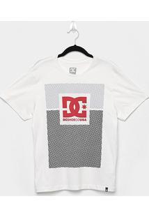 Camiseta Juvenil Dc Shoes Pill Resident Manga Curta Masculina - Masculino-Off White