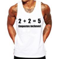 c616c1488 Camiseta Regata Criativa Urbana Frases Engraçadas Impostos Nerd Geek -  Masculino-Branco
