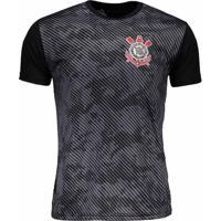 ceb59eae14 Netshoes. Camiseta Corinthians Basic Camuflagem Masculino ...
