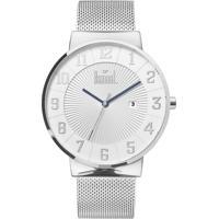 Relógio Dumont Slim Du2115Aag 3T Masculino - Masculino-Prata c1d3cfbd98