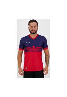 Camisa Ícone Sports Eagle Azul E Vermelha