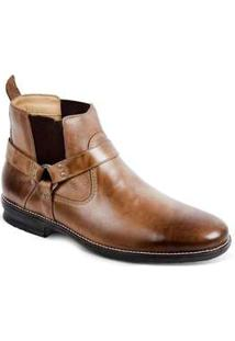 Bota Country Masculina Sandro Moscoloni Country Club Marrom Tan