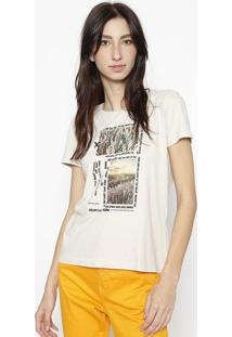 "Camiseta ""National"" - Branca & Pretacalvin Klein"