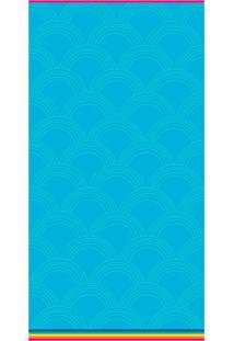 Toalha De Praia Beach - Appel - Rainbow - Azul