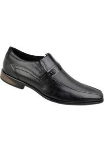Sapato Social Ferracini Sidney Masculino - Masculino-Preto