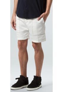 Bermuda Twill Sleek New-Offwhite - 38