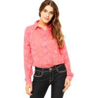 Camisa Florida Slim feminina  7ab4e743948f5